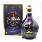 Glenfiddich 18 year old Ancient Reserve Blue ceramic decanter at whiskys.co.uk