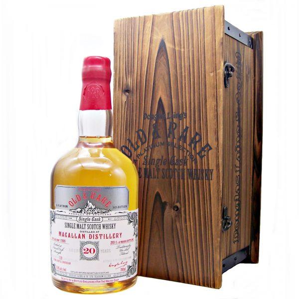 Macallan 20 year Old & Rare Platinum Selection Single Cask Malt Whisky