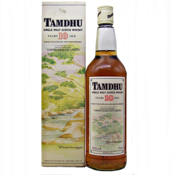 Tamdhu 10 year old 1980's Single Malt Whisky