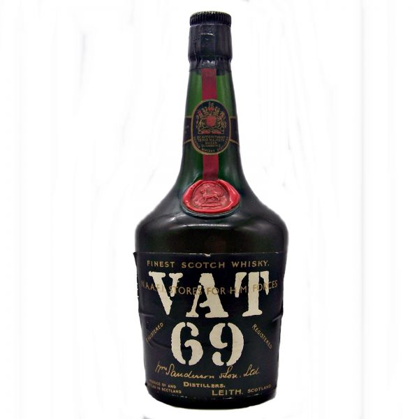 VAT 69 Finest Scotch Whisky 1950's