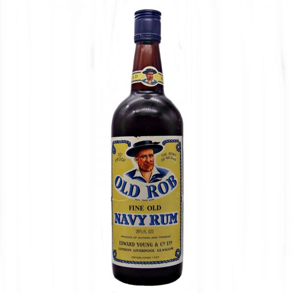 Old Rob Navy Rum 1970's