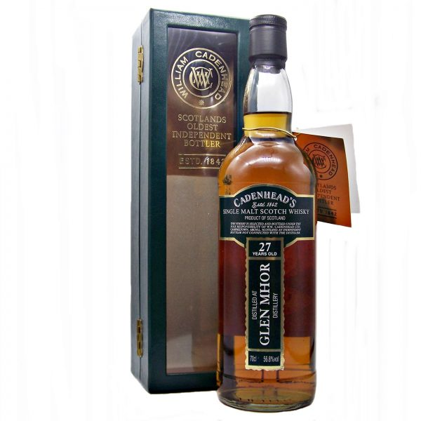 Glen Mhor 27 year old 1982 Cadenhead's
