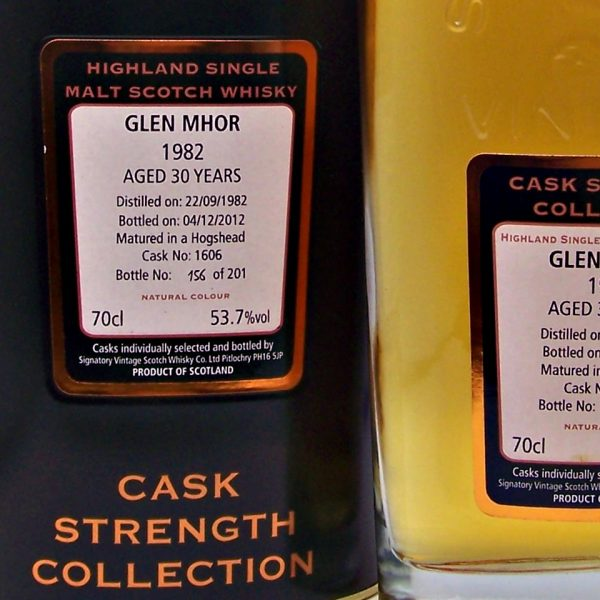 Glen Mhor 30 year old 1982 Signatory Vintage Scotch Whisky