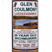 Inchmurrin 20 year old Glen Coulmony Loch Lomond Single Malt Whisky