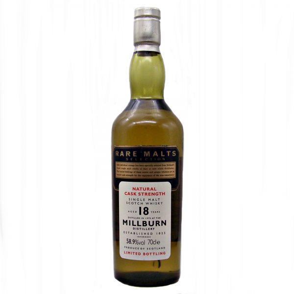 Millburn 18 year old Rare Malts Selection