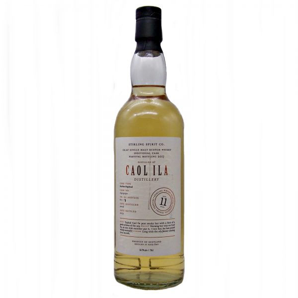 Caol Ila 11 year old Spirit of Stirling Whisky Festival