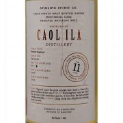 Caol Ila 11 year old Spirit of Stirling Whisky Festival 2017
