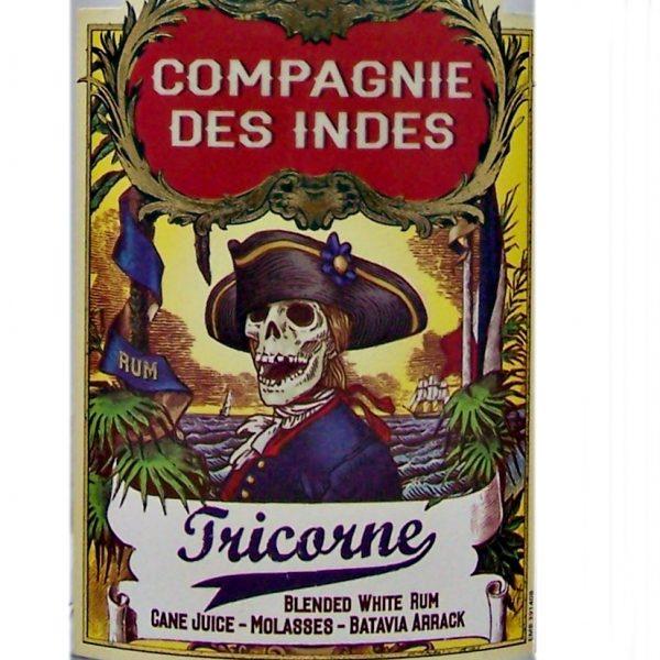 Campagnie Des Indes Tricorne White Rum
