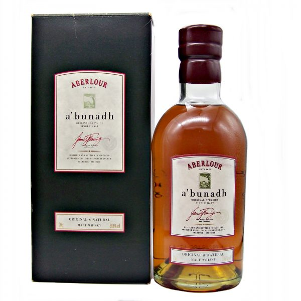 Aberlour a'bunadh Single Malt Whisky 1998 Release