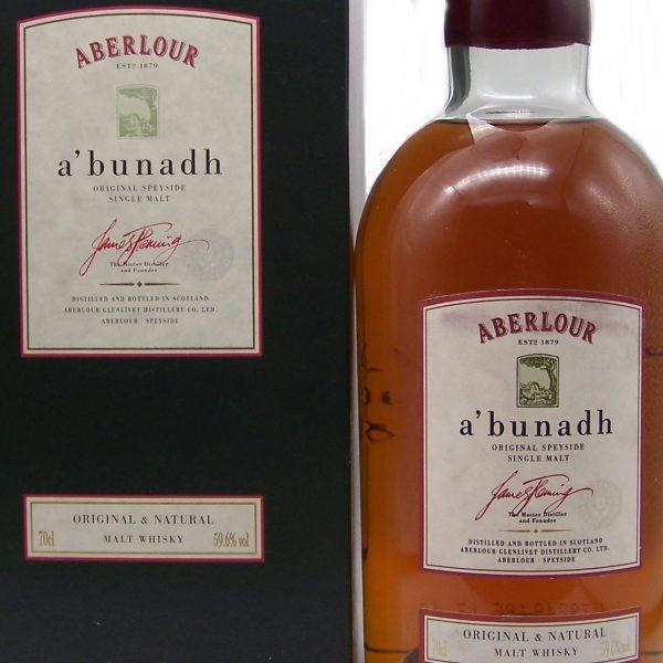 Aberlour a'bunadh Original & Natural