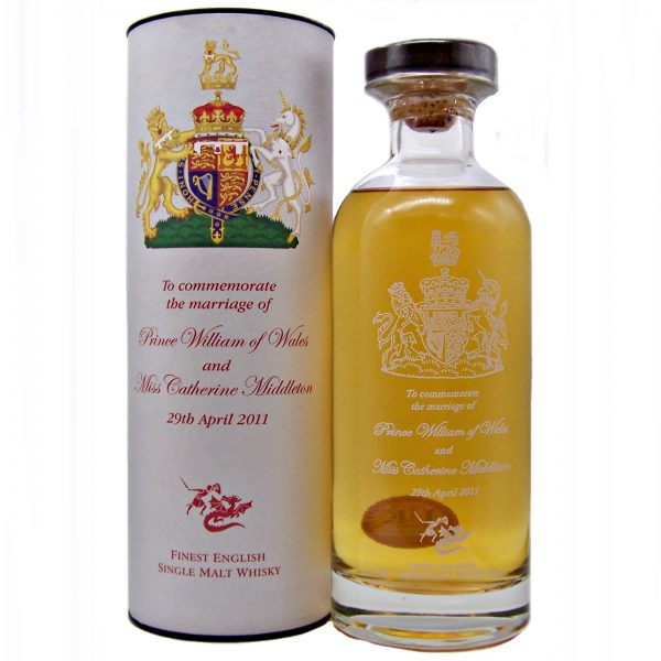 English Whisky Co. The Marriage of Prince William & Catherine Middleton