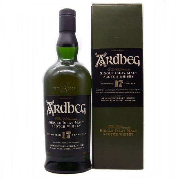 Ardbeg 17 year old Single Malt Whisky