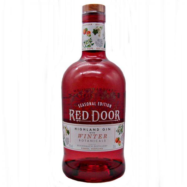 Red Door Gin with Winter Botanicals