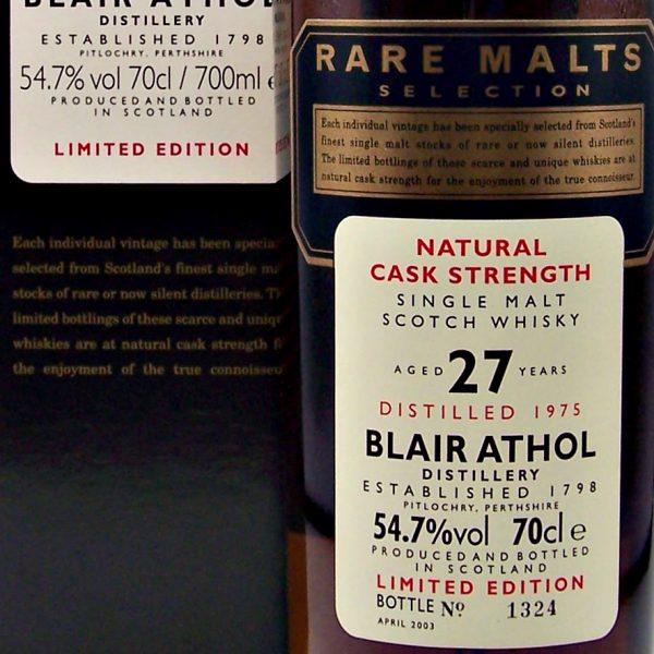 Blair Athol Rare Malts