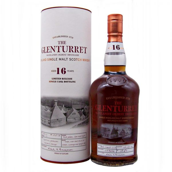Glenturret 16 year old Limited Edition Single Cask