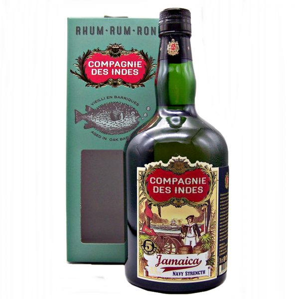 Campagnie Des Indes 5 year old Jamaican Rum Navy Strength