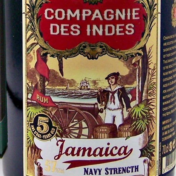 5 year old Jamaican Rum Navy Strength