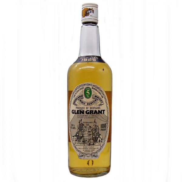 Glen Grant 100 Proof 5 year old 1969