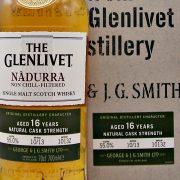 Glenlivet Nadurra 16 year old cask strength malt whisky