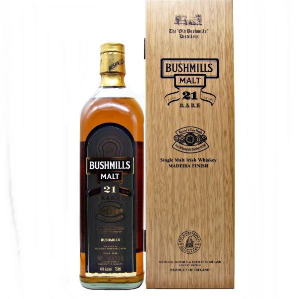 Bushmills 21 year old Madeira Finish 2006 Release