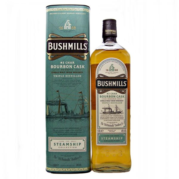 Bushmills Steamship Collection #3 Char Bourbon Cask
