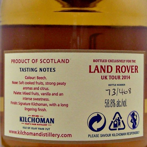Kilchoman Machir Bay Land Rover Tour 2014 Cask Strength
