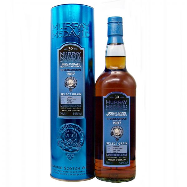 Invergordon 30 year old 1987 Single Grain Whisky