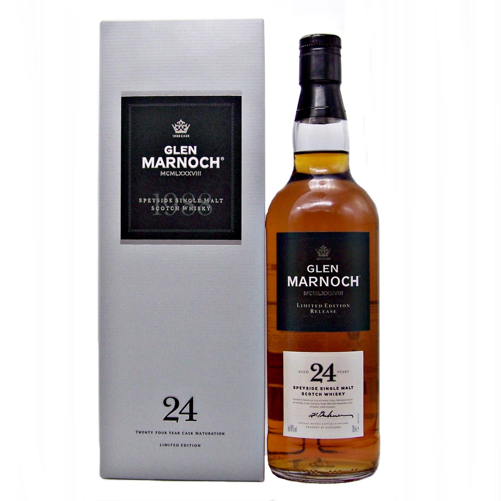 Glen Marnoch 24 year old 1988 Single Malt Whisky