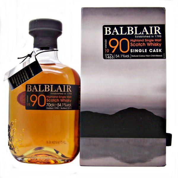 Balblair 1990 Single Cask Distillery Exclusive
