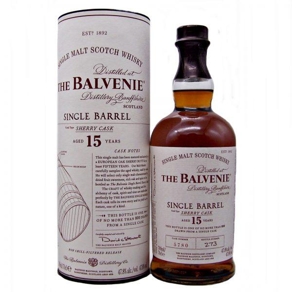 Balvenie Single Barrel Sherry Cask 15 year old