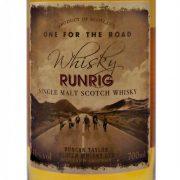 Royal Brackla Runrig One For The Road Single Malt Whisky
