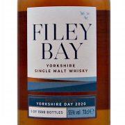 Filey Bay Single Malt Whisky to celebrate Yorkshire 2020