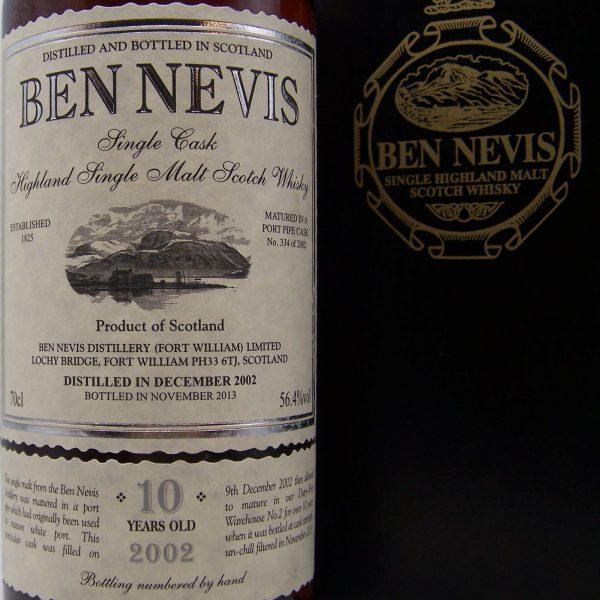 Ben Nevis 10 year old Single Malt Whisky