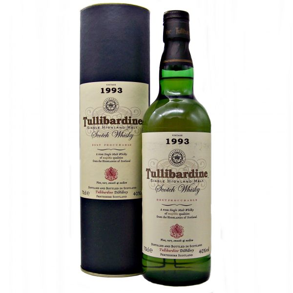 Tullibardine 1993 Vintage Bottled 2004