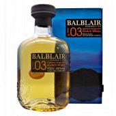 Balblair 2003 Vintage 1st Release Single Malt Whisky at whiskys.co.uk