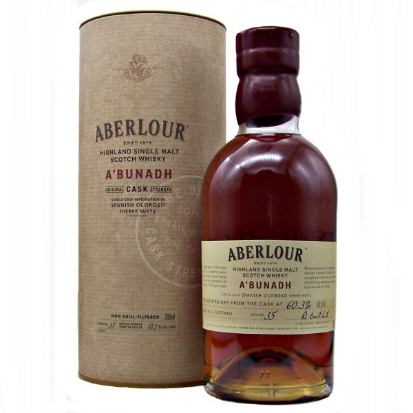 Aberlour abunadh Malt Whisky Batch No:35 Cask Strength