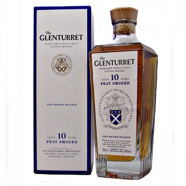 Glenturret 10 year old Peat Smoked 2020 Maiden Release