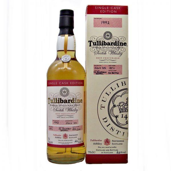 Tullibardine 1992 Single Cask Edition