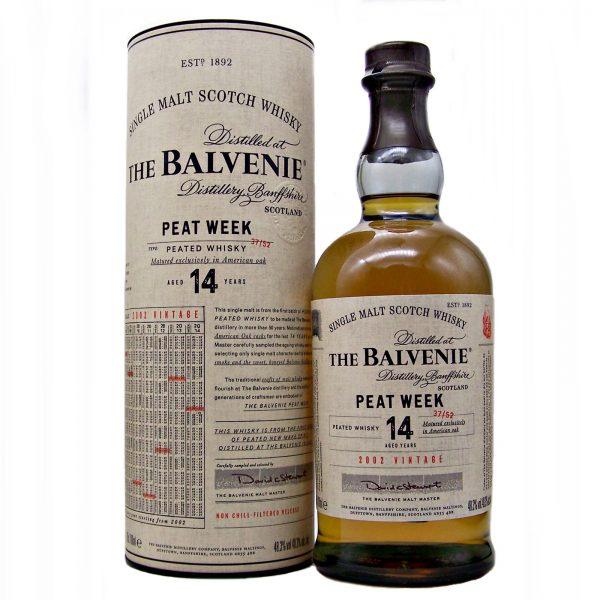 Balvenie 14 year old Peat Week 2002 Vintage