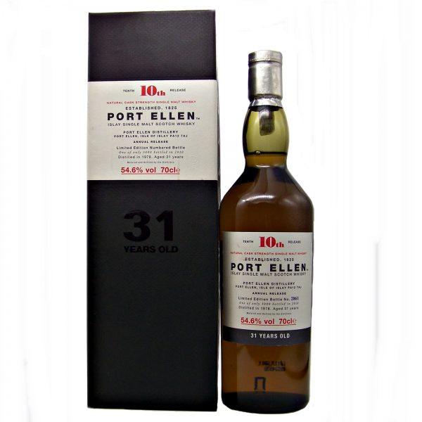 Port Ellen 10th Release 31 year old