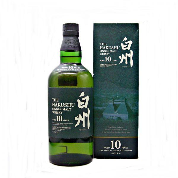 Hakushu 10 year old Japanese Single Malt Whisky