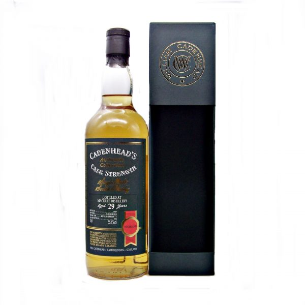 Macduff 29 year old 1989 Cadenhead's Authentic Collection