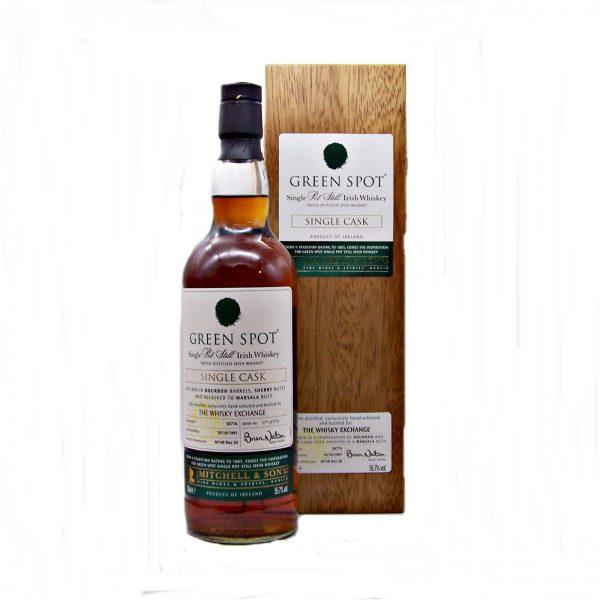 Green Spot 26 year old Irish Whiskey
