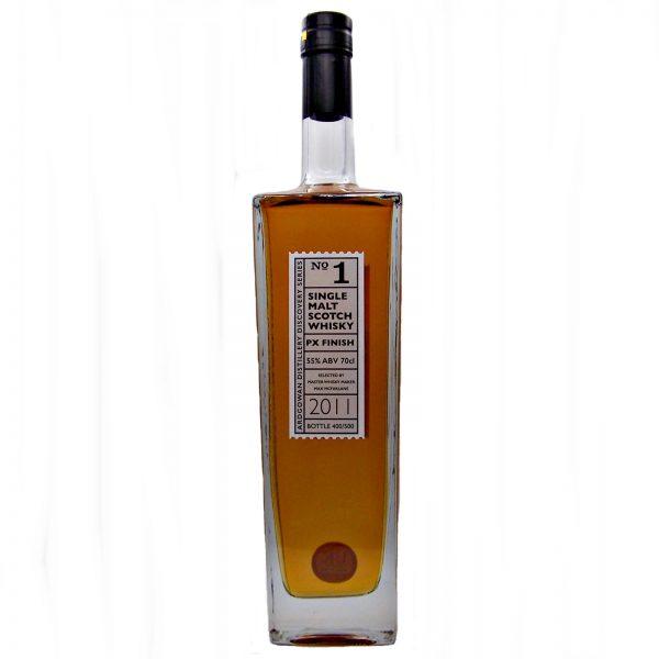 Ardgowen Discovery No1 Single Malt Whisky PX Finish