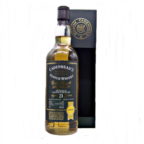 Bladnoch 23 year old 1990 Cadenhead's Authentic Collection