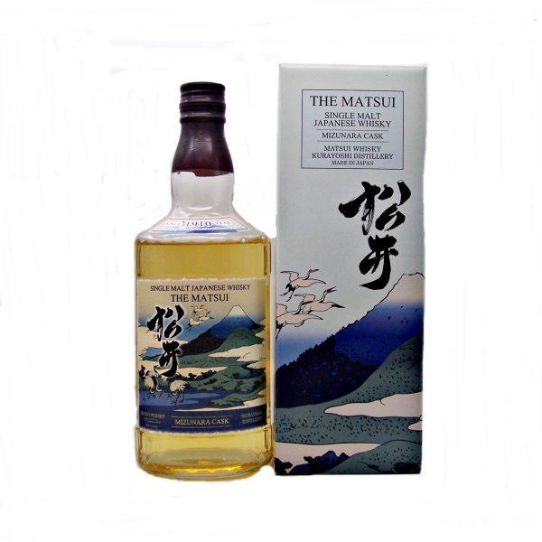 Matsui Mizunara Cask Japanese Single Malt Whisky Kurayoshi Distillery