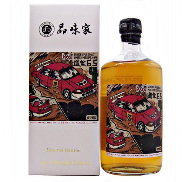 Shinobu Pure Malt Whisky Mizunara Oak Connoisseur Society