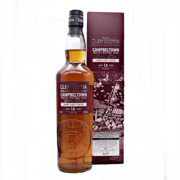 Glen Scotia 14 year old Tawny Port Finish Campbeltown Malts Festival 2020