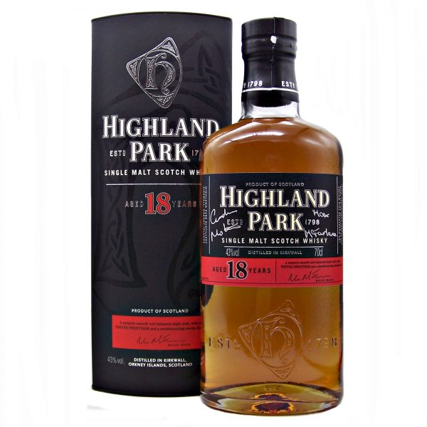 Highland Park 18 year old Signed Limited Edition