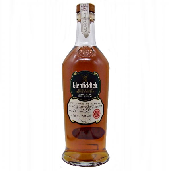 Glenfiddich 2001 Spirit of Speyside Festival Charity Bottling